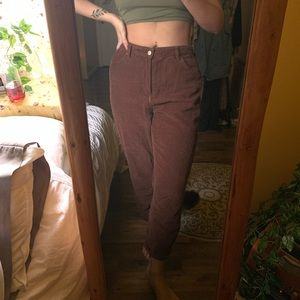 Urban Outfitters Corduroy High-Rise Mom Jeans
